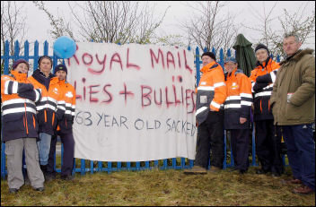 The CWU postal strike 2007