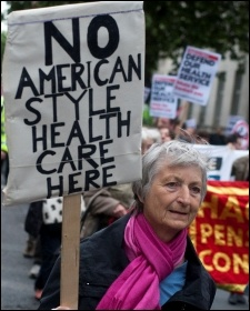 NHS: Big Business wants a US-style private health care system, photo by Paul Mattsson