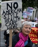 NHS: Big Business wants a US-style private health care system, photo Paul Mattsson