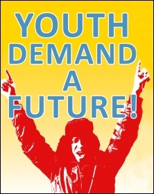 Youth Demand a Future, photo The Socialist