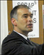 Tommy Sheridan, speaking in 2007
