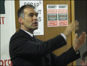 Tommy Sheridan in 2007