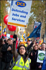 N30 - Millions strike back at Con-Dem government on 30 November 2011, photo by Paul Mattsson