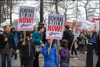 26 March 2011 TUC demonstration against the government's austerity programme, photo Suzanne Beishon