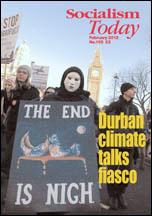 Socialism Today issue 155 February 2012