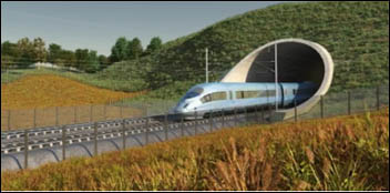 HS2 - The second high speed line in Britain - government advert