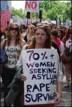 London slutwalk June 2011, photo Sarah Wrack