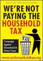 We're not paying the household tax