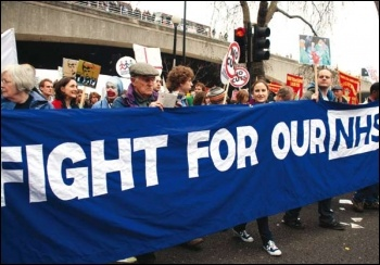 Fight for our NHS, photo by Senan