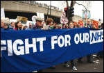 Fight for our NHS, photo Senan