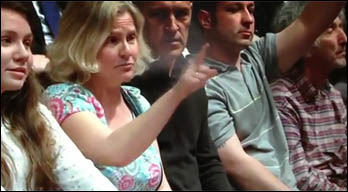 Paula Mitchell on Question Time, 26 April 2012