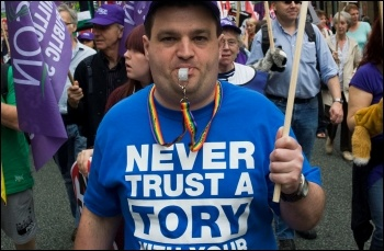 Never Trust a Tory, photo by Paul Mattsson
