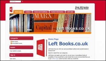 Left Books website
